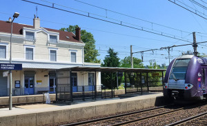 Gare Collonges Fontaines