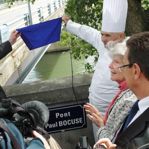 Baptême du Pont Paul Bocuse 16 mai 2011