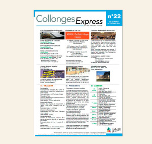 Collonges Express n22 en exemple