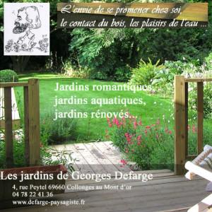 Georges Defarge - paysagiste - logo