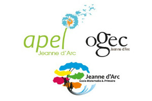 Logo Apel-Ogec Jeanne d'Arc