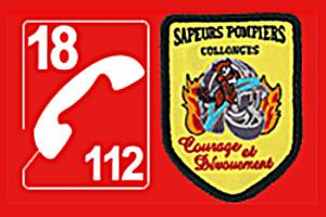 Logo Pompiers - 300/200