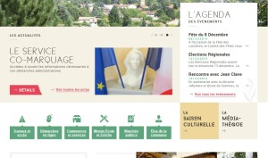 Site page accueil
