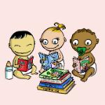 Médiathèque - bébés lecteurs - 150/150