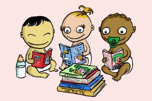 Médiathèque - Bébés-lecteurs - 300/200
