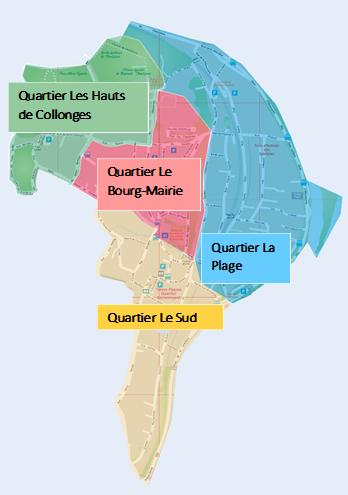 Comités Quartiers - Plan