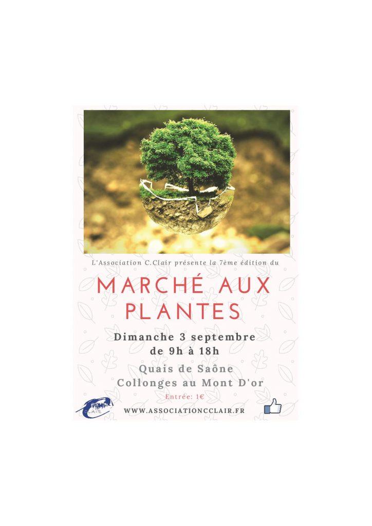 Flyer Marché aux Plantes 2017