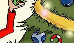 Illustration Noël brillante
