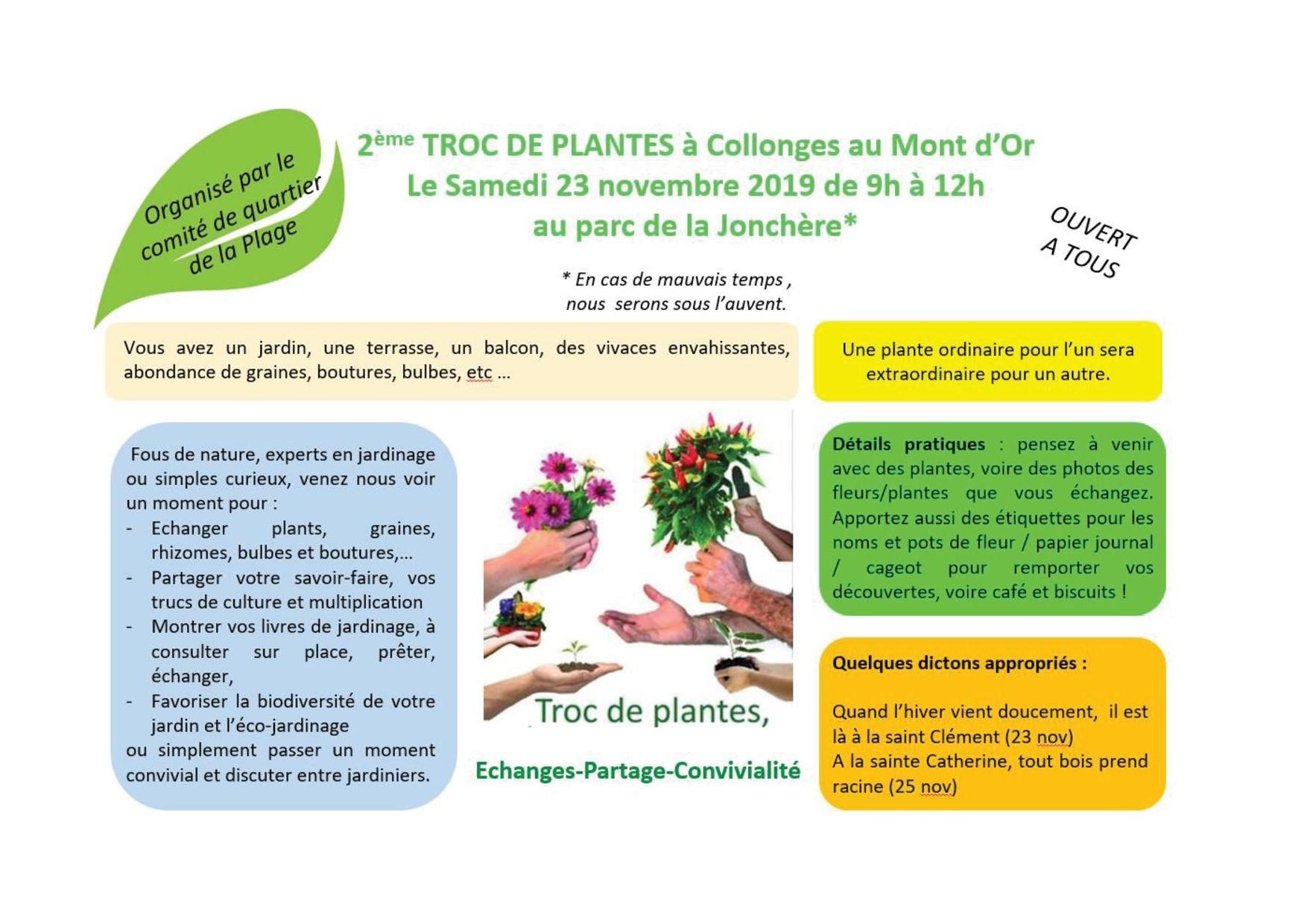 Les Jardins Des Monts D Or troc aux plantes - mairie de collonges-au-mont-d'or